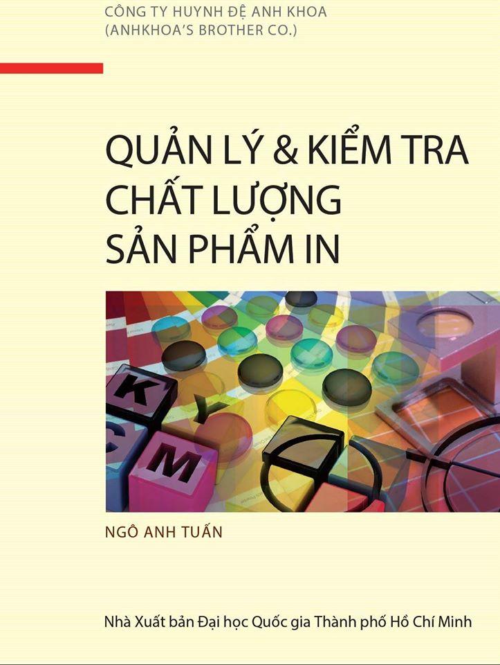 """Tặng E-book """"QUẢN LÍ VÀ KIỂM TRA CHẤT LƯỢNG SẢN PHẨM IN"""""""