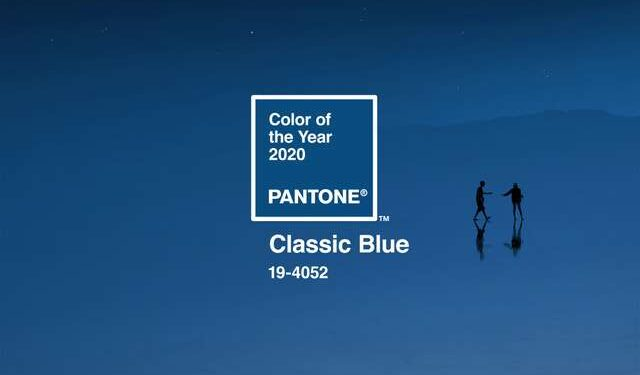 2020 Color of the Year: Classic Blue.