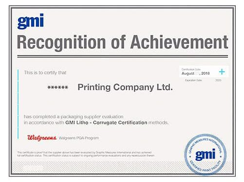 Why GMI Certification is Important for Packaged Products?